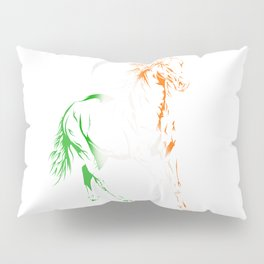 Irish Pride Horse Pillow Sham
