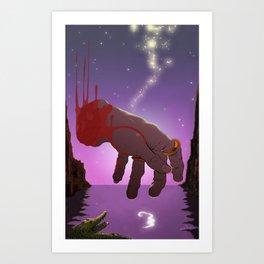 Hook Art Print