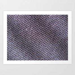 moon texture - Sec.1f.21.237 Art Print