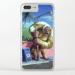 The Abominable Snowman of Pasadena Clear iPhone Case