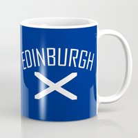 edinburgh Mugs featuring Edinburgh by Earl of Grey