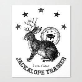 5 star certified jackalope trainer Canvas Print