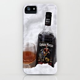 Ice Cold Captain Morgan Rum iPhone Case