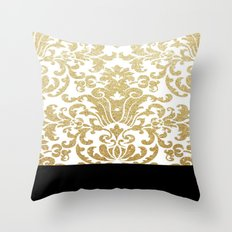 A Golden Kiss To Build A Dream On Throw Pillow