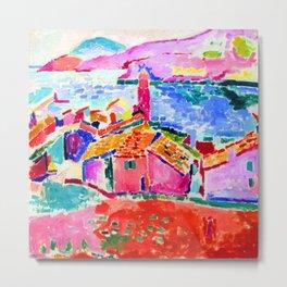 Henri Matisse Les toits de Collioure Metal Print