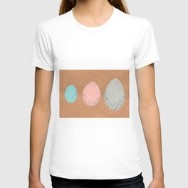 Pastel Speckled Egg Trio Painting T-shirt
