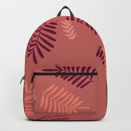 coral leaf Backpack