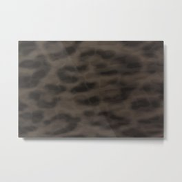 Double Leopard Metal Print