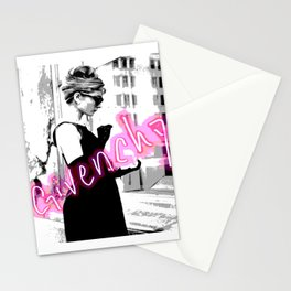 fashion icon no 2 neon edition Stationery Cards