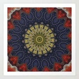 Better than Yours Colormix Mandala 9 Art Print