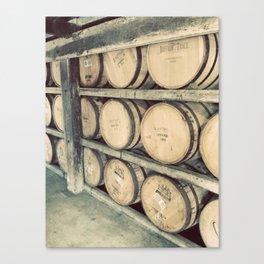 Kentucky Bourbon Barrels Color Photo Canvas Print