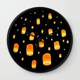 Lantern Festival Wall Clock