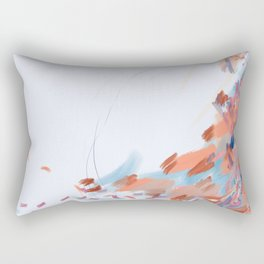 Slipping. Sinking. Soaring. Rectangular Pillow
