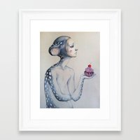 once upon a  time Framed Art Prints featuring Once upon a time... by Zina Nedelcheva