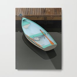 Pale blue serenity Metal Print