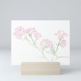 Rustic Rosa Rugosa Mini Art Print