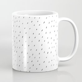 Minimalist Hand-painted Black Stripes Coffee Mug