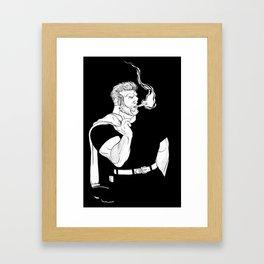 Commander Blackout Framed Art Print