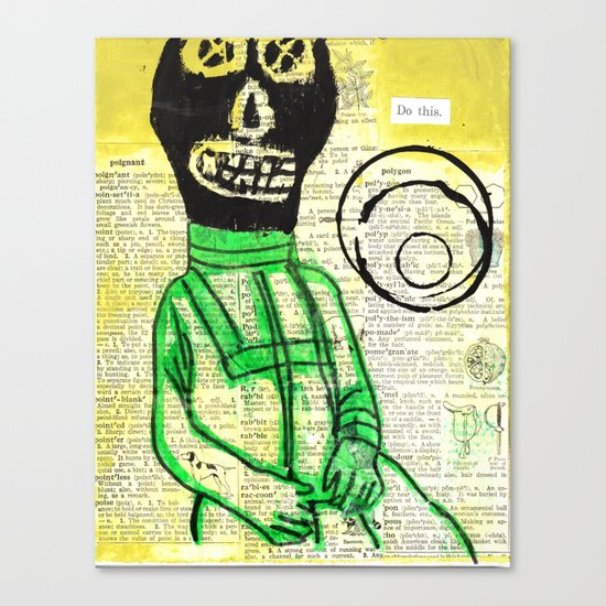 Hello Cosmomaut Canvas Print