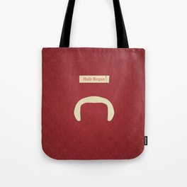 Hogan (Famous mustaches and beards) Tote Bag
