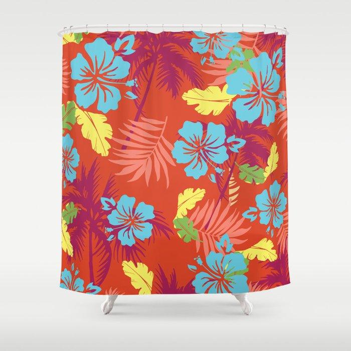 Weird Me Aloha design: Mauna Kea Shower Curtain
