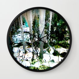 Liquid Reflexes Wall Clock
