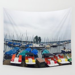 Seaport Photography Wall Tapestry