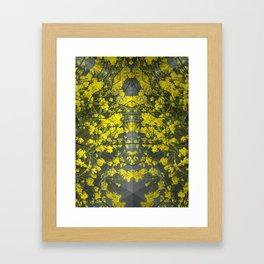 Mustard Rising Framed Art Print