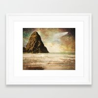 interstellar Framed Art Prints featuring Interstellar by Jenndalyn