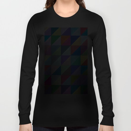 Geometric Shapes I Long Sleeve T-shirt