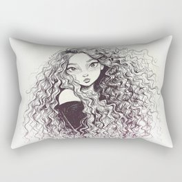 Curls Rectangular Pillow