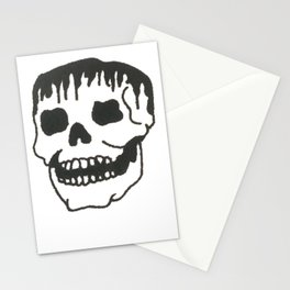 Dropping skull Stationery Cards