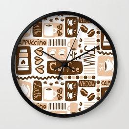 Java Java Java! Wall Clock
