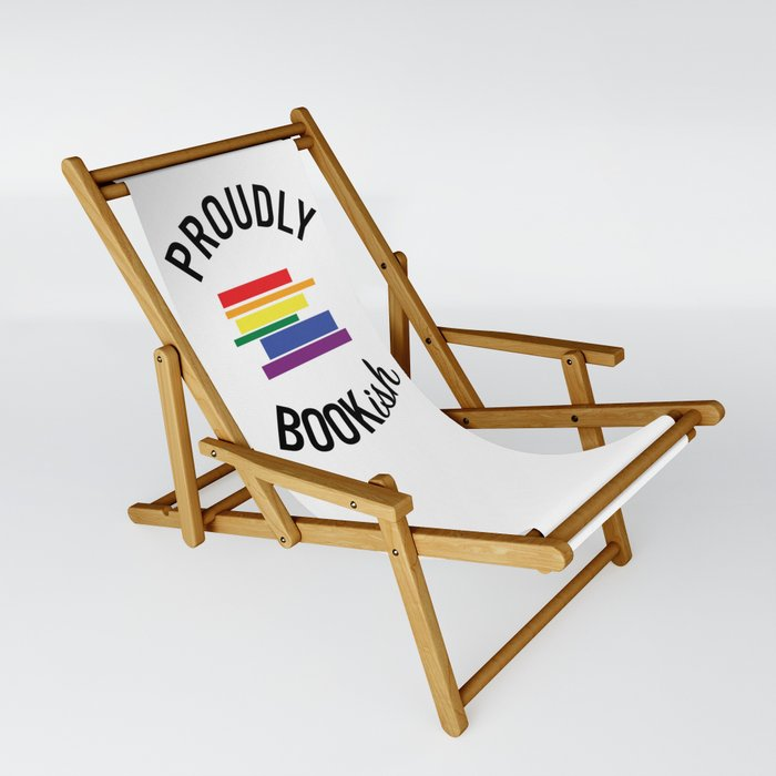 Proudly Bookish Sling Chair