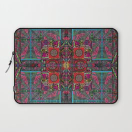 no. 183 multicolored red border Laptop Sleeve