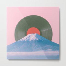Fuji record Metal Print