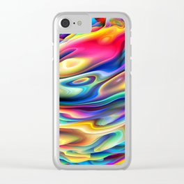 Chaos XII Clear iPhone Case