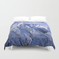 giants Duvet Covers featuring Giants by Robin Curtiss