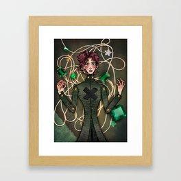 Kakyoin Noriaki Framed Art Print