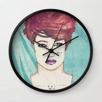 exo Wall Clocks featuring Exo Kai by Isaacson1974