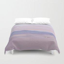 Pink Desert Sunset Duvet Cover