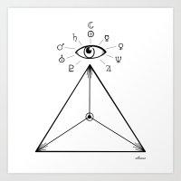 Freemasonry Art Print