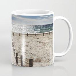 """""""Cabo de Gata"""". Square.  Retro serie Coffee Mug"""