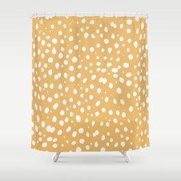 LEOPARD YELLOW Shower Curtain