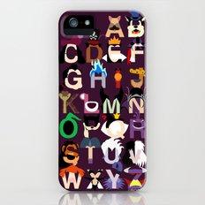 Evil-phabet Slim Case iPhone (5, 5s)