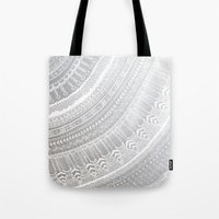 silver Tote Bags featuring Silver by rskinner1122