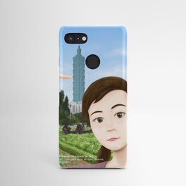 Fern Selfie with Taipei 101 Android Case