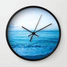 calm day 04 ver.blue Wall Clock