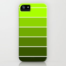 Spring Green Ombre iPhone Case