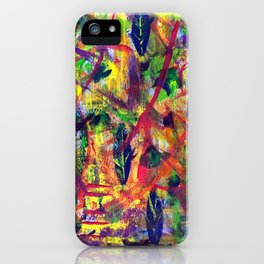 """Summer Dance"" Original Painting by Julia Barnickle iPhone Case"